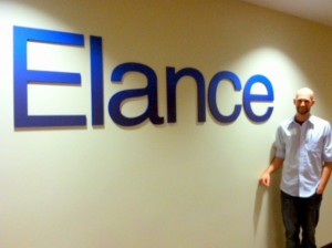 me with Elance sign