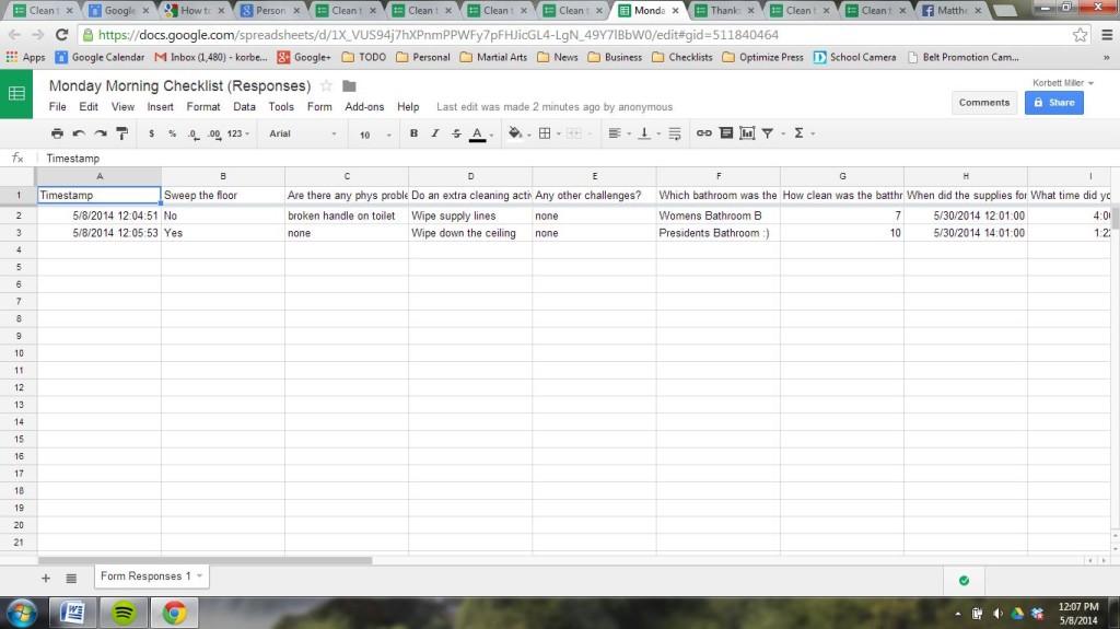 google forms responses spreadsheet