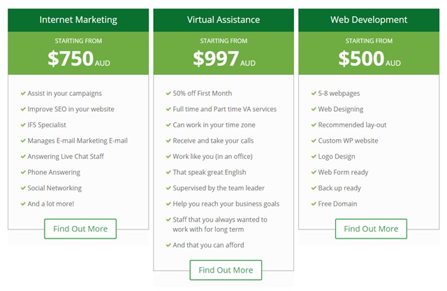 virtual done well pricing