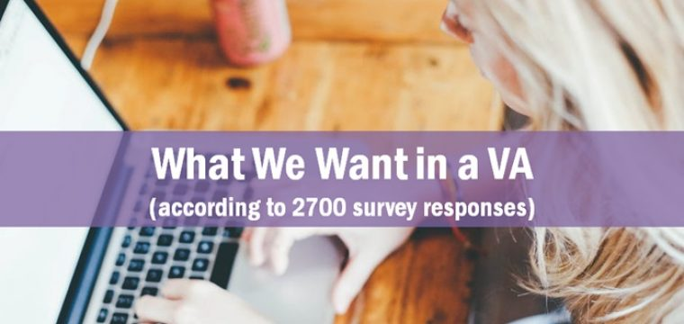 What We Want in a Virtual Assistant, According to 2700 Survey Responses