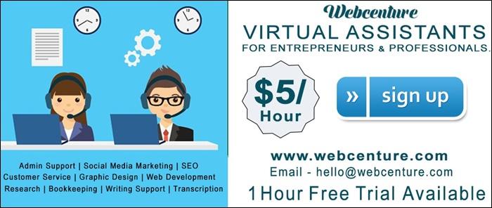 webcenture virtual assistants