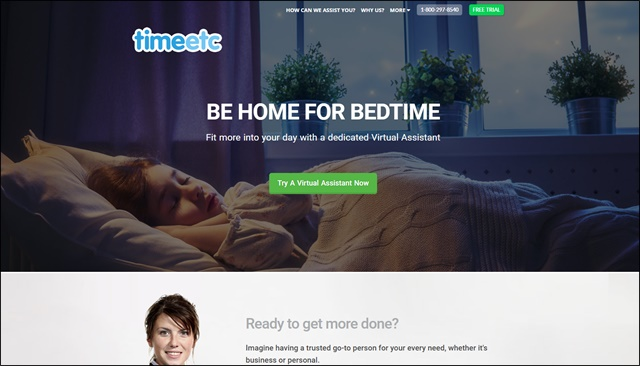 time etc homepage